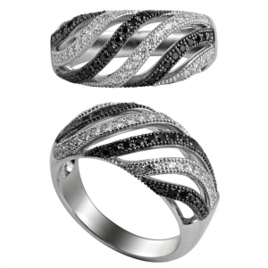 Two Tones Plated Ring